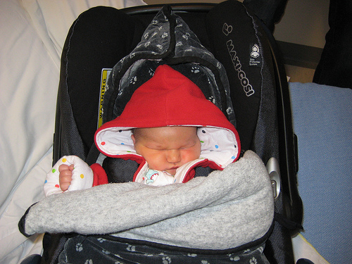 Coming home from hospital