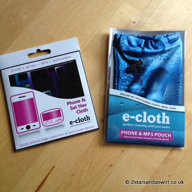 Review of e-cloth Phone & Sat Nav Cloth & MP3 Pouch