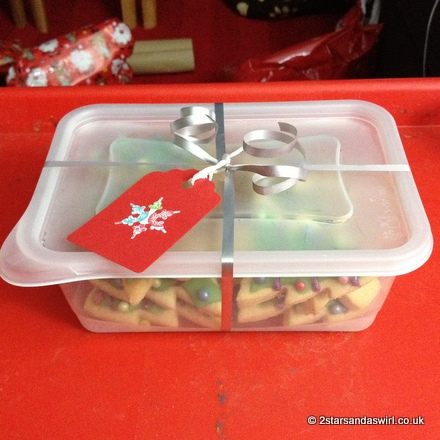 ChristmasTree Biscuit Gift