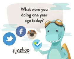 Go get the Timehop App…