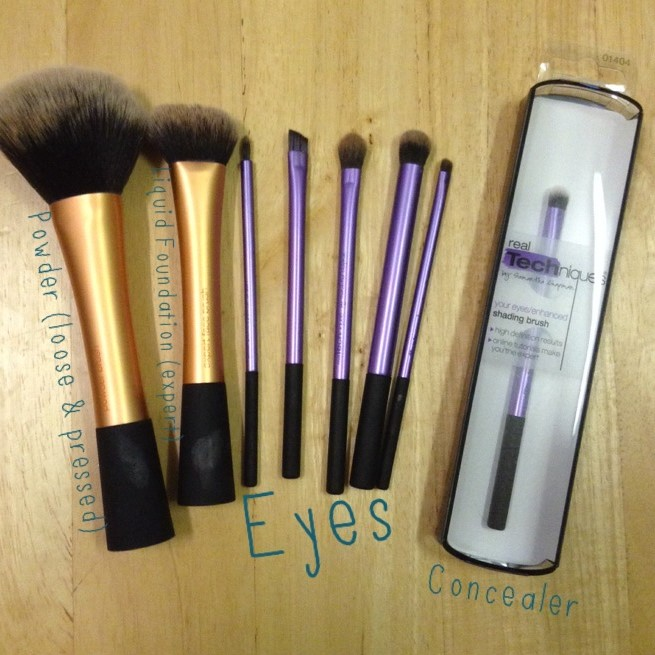 Review: Real Techniques Make Up Brushes