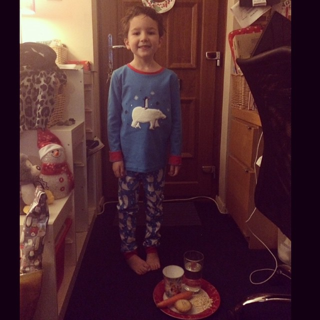 December 2014 - Christmas eve. We had a lovely Christmas Day, full of laughing and Lego