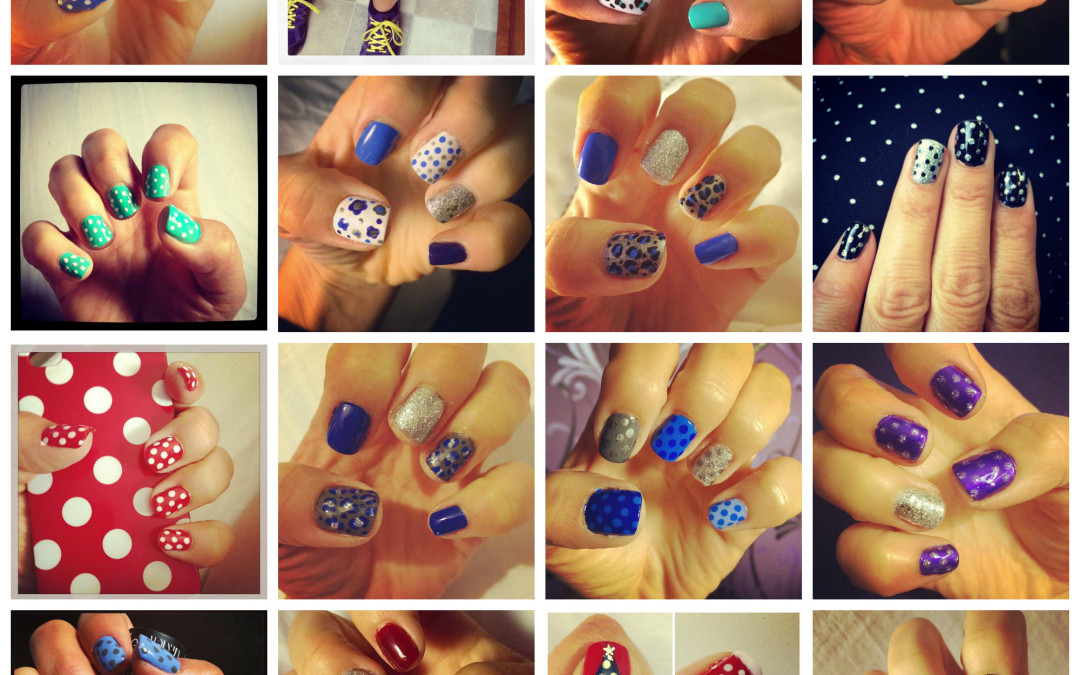 A year of Nail Art 2014