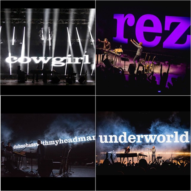October 2014 - Best gig of my life, so far. Underworld at the Royal Festival Hall.