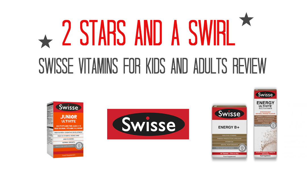 Swisse Vitamins for kids and adults review