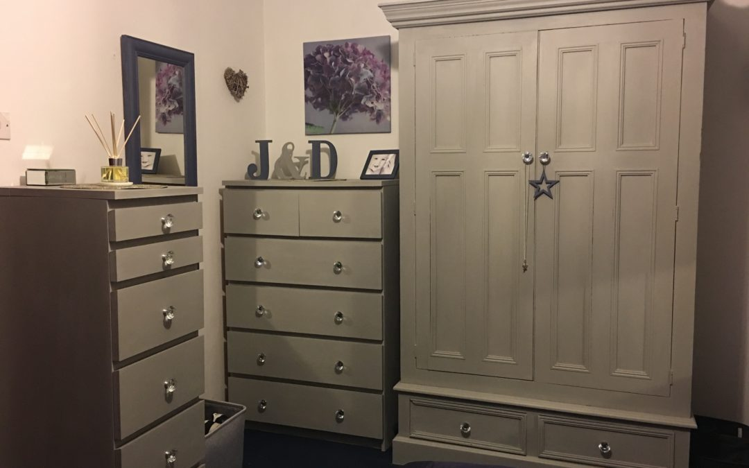 Annie Sloan Chalk Paint Bedroom Furniture Make Over