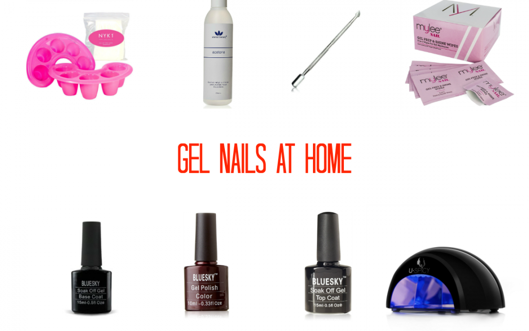 Gel nails at home – what I use from Amazon