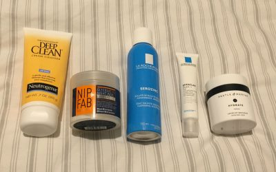 September 2017 Skincare products update