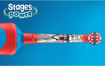Review of Oral-B Stages Power Kids Electric Toothbrush featuring Star Wars
